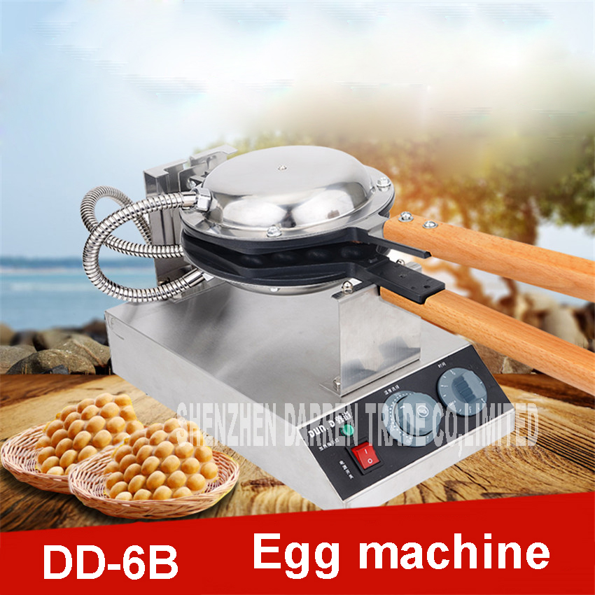 1PC  DD-6B waffle maker machine 1400W bubble egg cake oven 220 V 110 V aluminum alloy Grill plate material Temperature 50-300  1PC  DD-6B waffle maker machine 1400W bubble egg cake oven 220 V 110 V aluminum alloy Grill plate material Temperature 50-300