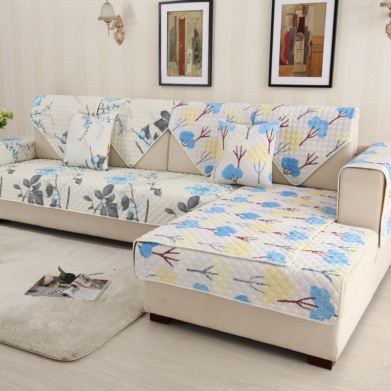 Machine Washable Cotton Sofa Couch
