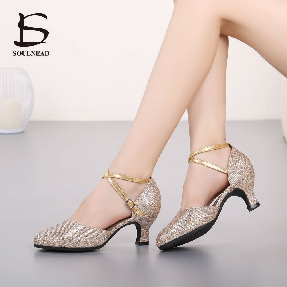 New High quality Sequin Women Latin Dance Shoes Salsa Tango Modern Soft Bottom Girls Dancing Shoes National Standard Dance ShoesNew High quality Sequin Women Latin Dance Shoes Salsa Tango Modern Soft Bottom Girls Dancing Shoes National Standard Dance Shoes