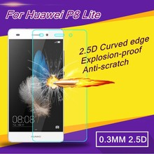 For Huawei P8 Lite Tempered Glass Display Protector, HD CleDar Glass Protecting Movie For Huawei P8 Lite Case Display Protector