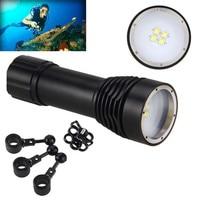Bicycle Accessories Bike Flashlight Headlamp 8000LM 4x XML L2 LED Underwater 100M Scuba Diving Flashlight Torch