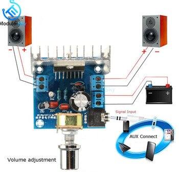 TDA7297 Version B Amplifier Board DC 9-15V 15W*2 Digital Audio Power Module Stereo Dual Channel 15W + Amplificador - discount item  29% OFF Portable Audio & Video
