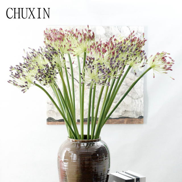 Plastic Artificial Flowers For Home Wedding Decoration Accessories Fake Flower 81cm