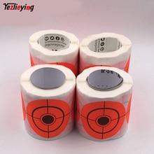 250 sticks per pack Splash flower Lens 3 inch adhesive  reactivity shoots target for the gun/Rifle/gun folders 7.5CM