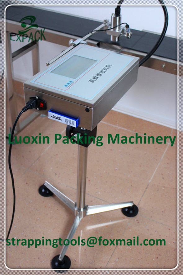 LX-PACK Lowest Factory Price belt conveyor for inkjet printer belt conveyor for inkjet printing machine Stand holder Shelf pu belt pu timing belt joint machine single sided belt conveyor belt price sewing machine