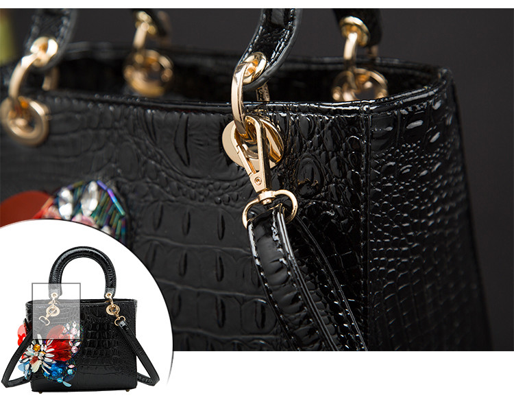 Moda de luxo diamante borboleta bolsa feminina