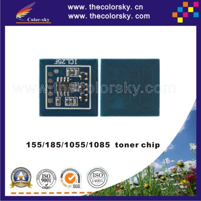 4PCS/Lot Toner Cartridge Reset Chip for <font><b>Xerox</b></font> DocuCentre <font><b>155</b></font>/185/1055/1085 CT200653 CT200398 BK 11K (CZ-X185T) image