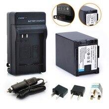 Probty 1 x BP-827 BP827 Батарея машины Зарядное устройство + переходник для Canon HF10 HF11 HF100 HF20 HF200 HF S10 S11 S100 S20 S21