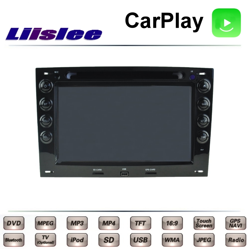 For Renault <font><b>Megane</b></font> II <font><b>2</b></font> 2002~2009 LiisLee Car Multimedia TV <font><b>DVD</b></font> <font><b>GPS</b></font> Radio Carplay Original Style Navigation Navi image