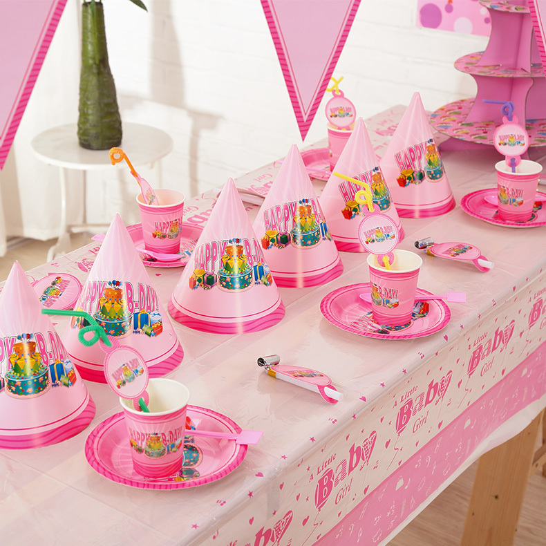 Birthday Decoration At Home For Kids: Lovely New Kids Birthday Party Decoration Set Birthday