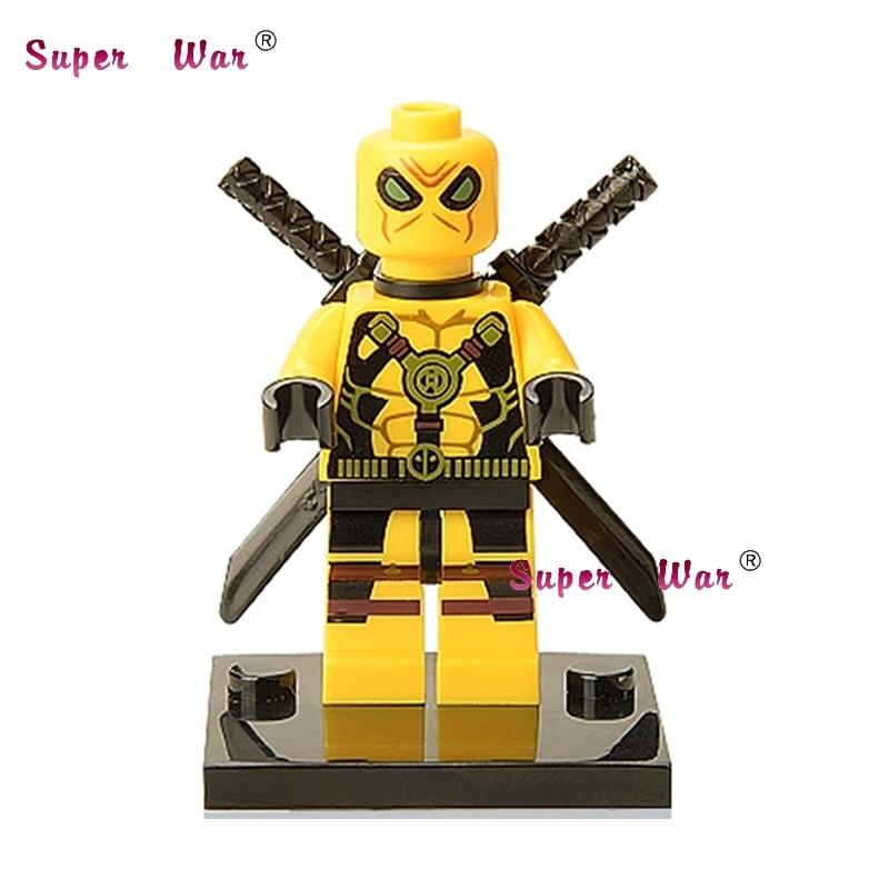 20pcs star wars superhero marvel Kills Deadpool building blocks action figure bricks model educational diy baby toys