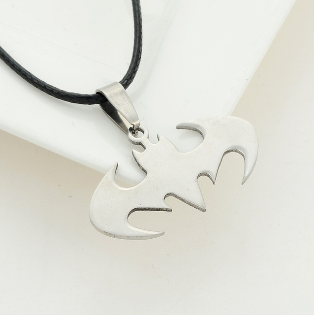Batman Necklace Pendant Collar Chain Necklace Rope Chain