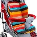 Cochecito de bebé Cojín de Rayas de Doble cara Impermeable, Cochecito de bebé Accesorios, cochecito Pad, Bebé Silla/Asiento de Coche Almohadillas Qyt01