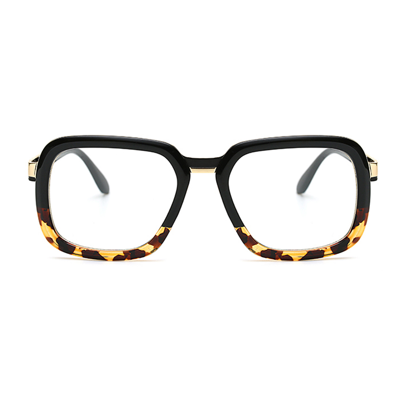 WOWSUN Fashion Oversized Women Oval Eyeglass Brand Designer Frames ...