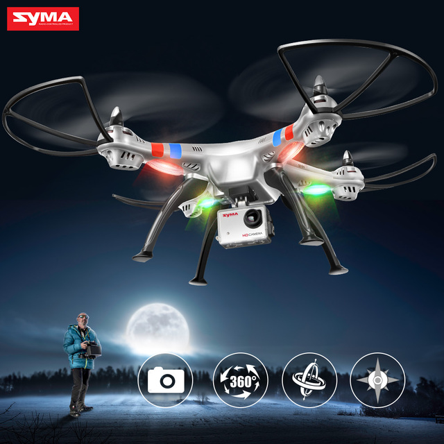 SYMA RC Drone X8C X8G 8MP With Camera HD Quadcopter UAV RTF Helicopter Aircraft Dron X8W Wifi FPV Real Time Transmission Drones