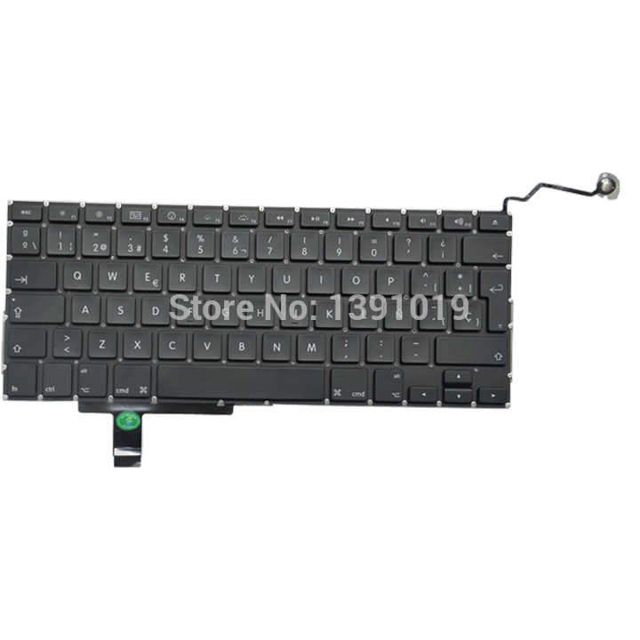 Spanish Keyboards For Macbook Pro a1297 Keyboard Replacement 2009-2011
