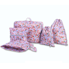 050 5Pcs Multifunctional Travel Clothing Shoes Cosmetics Organizers Suitcase Closet Divider Container Fashion Storage Bag