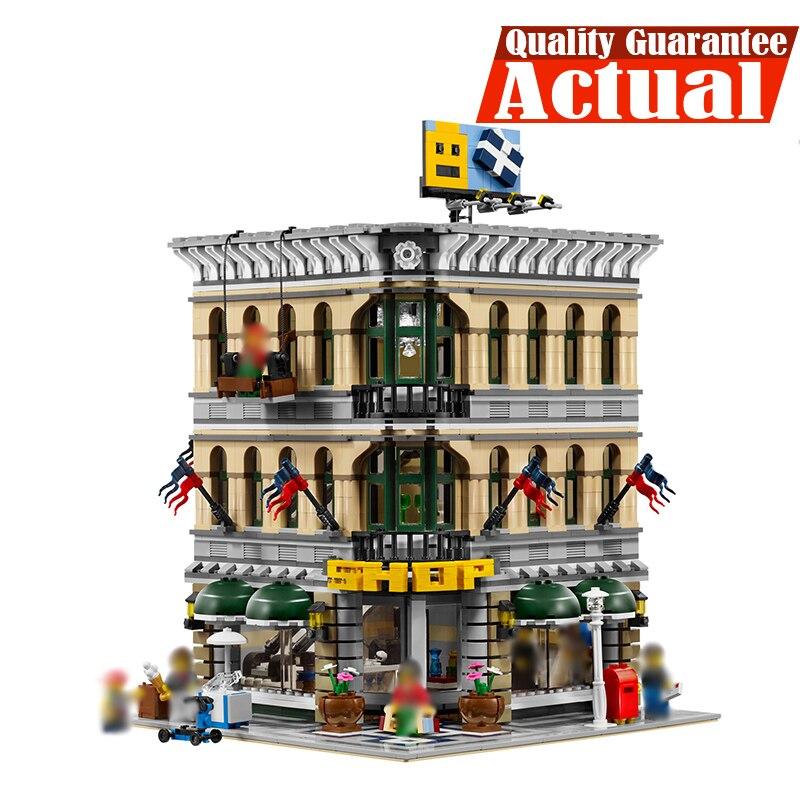 где купить LELE 30004 Grand Emporium Creator Architecture Building Blocks Bricks Toys DIY For Kid Model Compatible with INGly 10211 по лучшей цене
