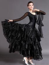 High-end modern dance skirt new competition skirt fashion ballroom dance dress dance dress practice skirt