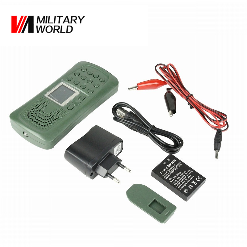 CP-387 Electronics Outdoor Shooting Hunting Mp3 Bird Caller Sounds Player without Remote Control Animal Bird Decoy Device ! 210 sounds 50w sounds birds caller hunting decoy mp3 player bird hunting trap mp3 with 100 200m remote control