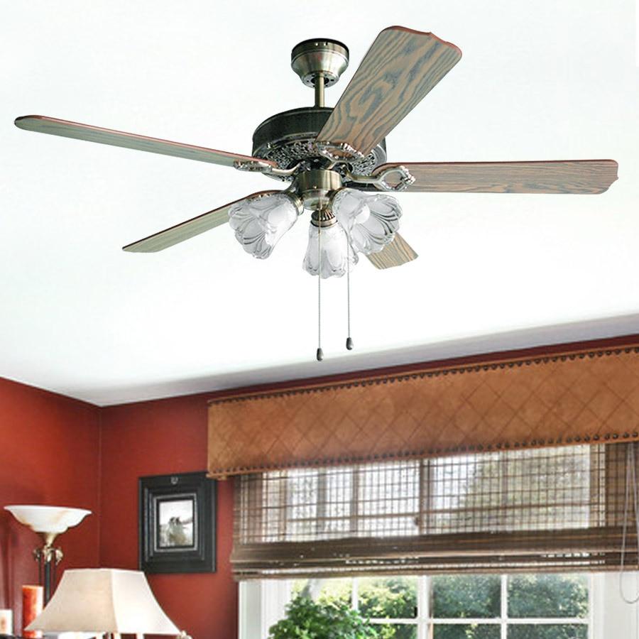 Fashion Rustic Ceiling Fan Lights