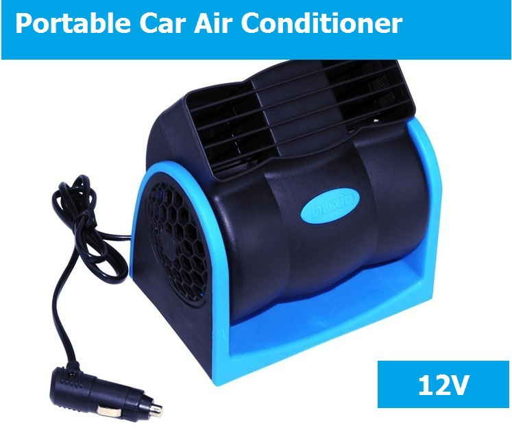 Vehicle Fan Cigarette Lighter Fan Air Vent Portable Car