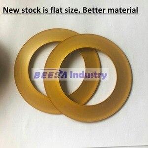 Image 2 - 2 pièces, segment de Piston 74.2*48*0.9 pièces de rechange de compresseur dair sans huile, anneau matériel de PTFE