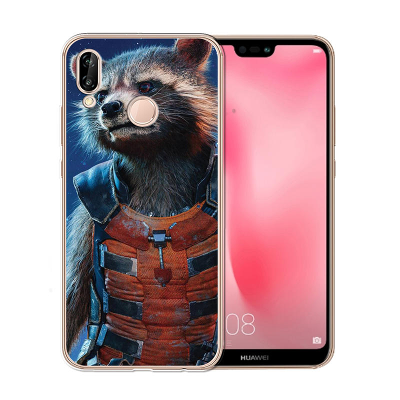in stock ab877 8b53e US $0.96 20% OFF|Groot phone Case Cover For Coque Huawei Nova plus 2 3 3i  Y2 II Y6 II Y3 2017 Y5 Prime 2018 Case Soft Silicone TPU cover Cute-in ...