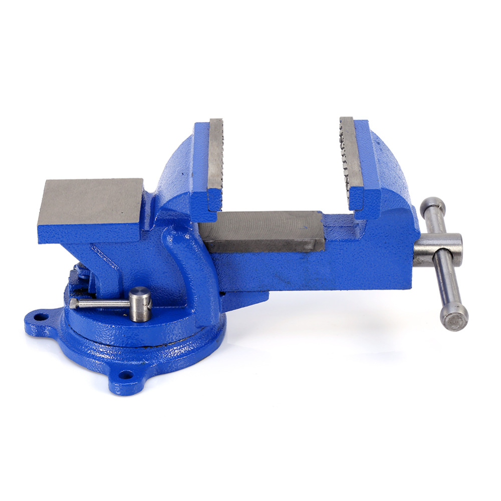 "Купить с кэшбэком 4"" 100mm Jaw Bench Vice Workshop Table Clamping Machine Engineer Multitool Heavy Duty Clamps Mini Vise ferramentas Hot Sale"