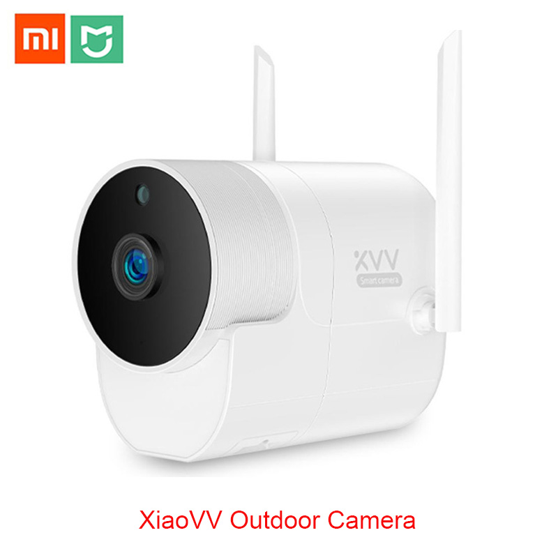 Caméra panoramique extérieure Xiaomi Xiaovv 360 caméra de Surveillance IP 1080P WIFI sans fil vision nocturne haute définition avec l'application Mijia