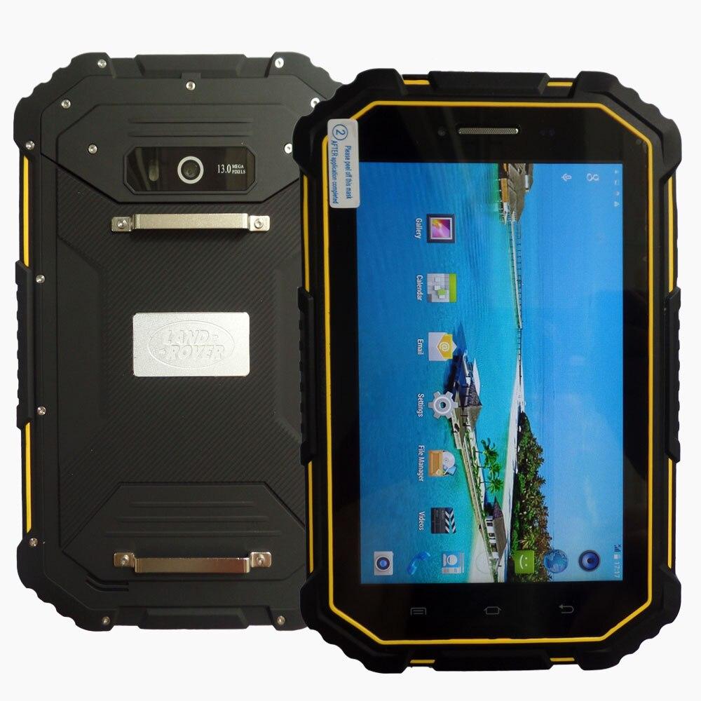 Оригинальный M16 Водонепроницаемый ip67 4 г LTE tablet pc 2 ГБ Оперативная память 16 ГБ Встроенная память GPS mtk6732 7000 Батарея 13MP quad Core Dual SIM карты с телефон