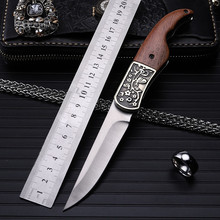2016 high quality outdoor folding knife self-defense wilderness survival with high hardness knife wild fruit knife plum blossom navajas new sale 2016 outdoor folding knife self defense wilderness survival with hardness wild fruit plum blossom