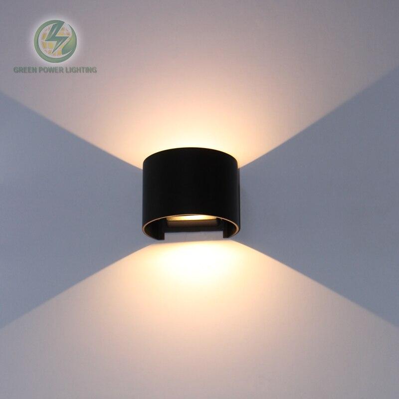 Étanche éclairage extérieur mur monté réglable up down led mur lampes/led applique murale Entrée 85-265 V