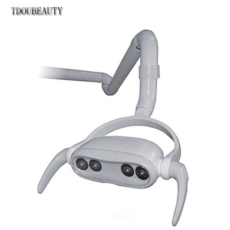 цена на TDOUBEAUTY 22mm Dental LED Oral Light Lamp For Dental Unit Chair CX249-4 ceiling type oral light Free Shipping