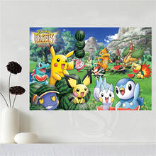 Custom Canvas Pokemon Wall Poster