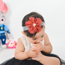Haar Accessoires Unisex Time-limited Hair Accessories For Real 2019 Headband Baby Band Lace Flowers Girl Elastic Bands Headwear
