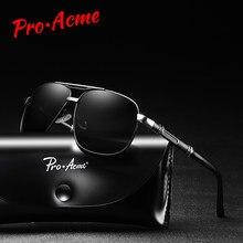 5943b5fac6a Pro Acme 2019 Retro Sunglasses Men Polarized Glasses for Driving Male  Sunglass Brand Designer Black Sun Glasses for Men PA1180