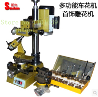 High Quality 220V Jewelry Making Machine Bracelet Bangle Faceting Machine Ring Engraving Machine jewelery tools