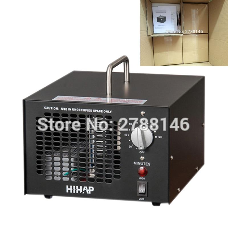 7.0G ozone generator air purifier (4PCS/CTN) black ozone argon black edition