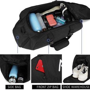 Image 4 - Scione גברים נסיעות ספורט שקיות Mens תיק גדול נסיעות תיק מטען באיכות גבוהה נוסעים ומטען עבור גברים