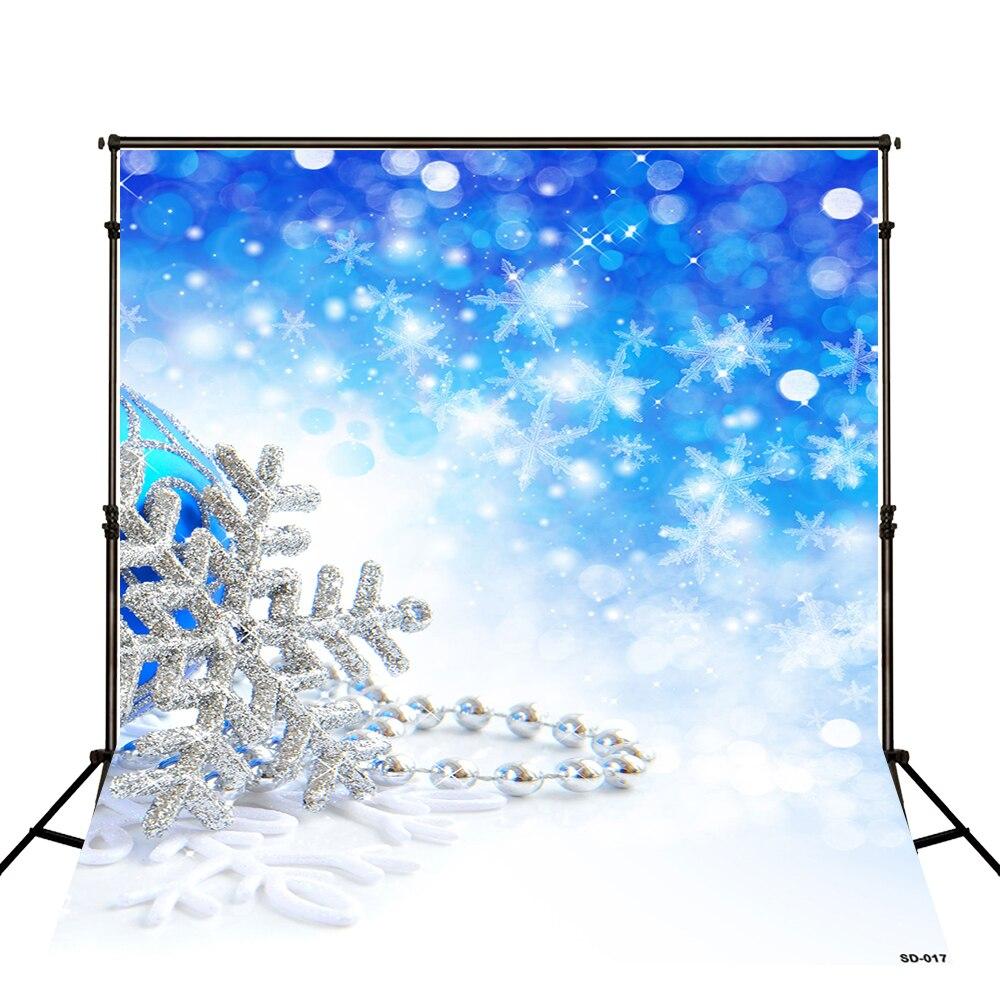 Kate Weihnachten Kulissen Fotografie Halskette Gefrorene Schnee Blau ...