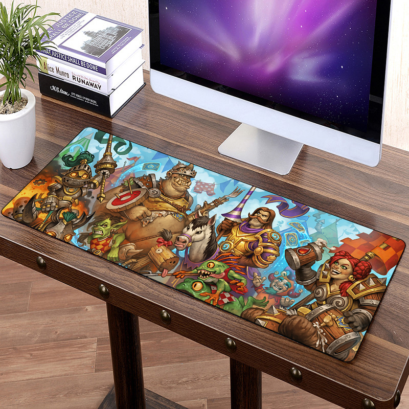 800x30mm Large Gaming Mouse Pad For Hearthstone Heroes Of