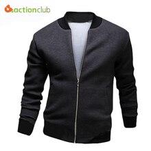 Neue Design männer Frühling Herbst Mantel 3 Farben Männlichen Warme Slim Fit Jacke Männer Casual Style Jacke