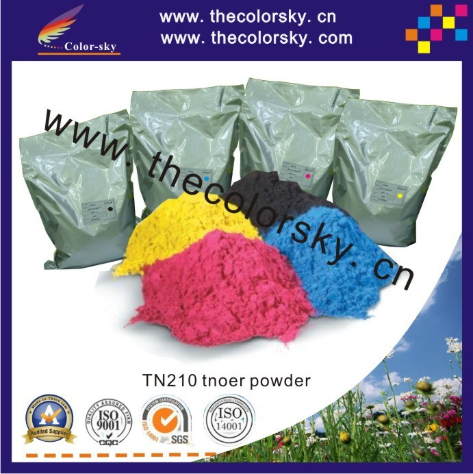 (TPBHM-TN135) premium color laser toner powder for Brother TN115 TN135 HL-4040 HL-4070 MFC9440 bkcmy 1kg/bag/color Free fedex