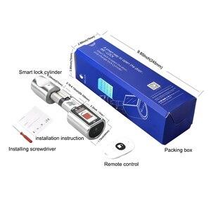 Image 5 - 2020 Mới Hỗ Trợ Bluetooth Vân Tay Và Màn Hình OLED Móc Khóa Wifi Thông Minh Khóa Điện Tử