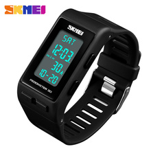 SKMEI Brand Mens Sports Watches Top Brand Luxury Pedometer C