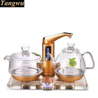 All-intelligent automatic water electric kettle tea furnace crystal glass art
