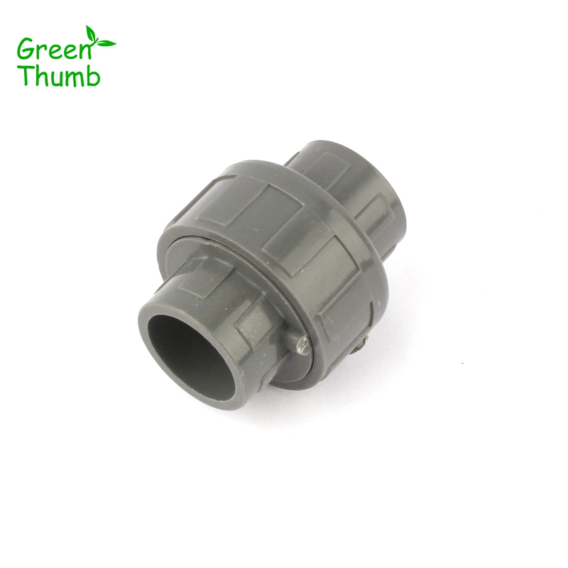 US $26 23 41% OFF|30pcs Dia 20mm PVC Quick Connector Grey Water Pipe PVC  Joints Garden Planting PVC Fittings-in Garden Water Connectors from Home &