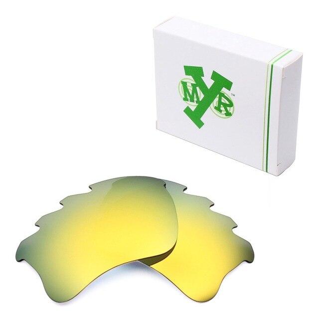 MRY ПОЛЯРИЗОВАННЫЕ Замену Линзы для Бронежилет Xlj Вентилируемый Солнцезащитные Очки Oakley 24 К Золото