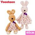 60 см кролик плюшевые игрушки для детей может быть снять одежду ле сукре кролик куклы